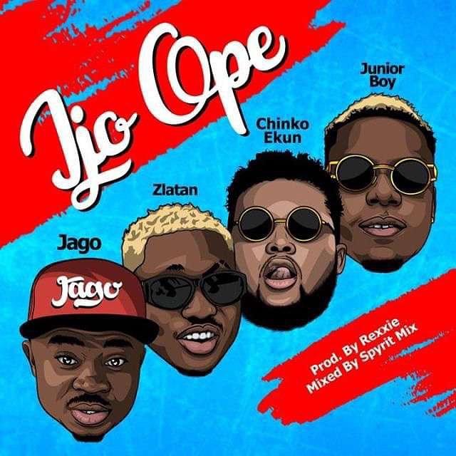 Rahman Jago - Ijo Ope ft Zlatan ibile, Chinko Ekun, Junior Boy