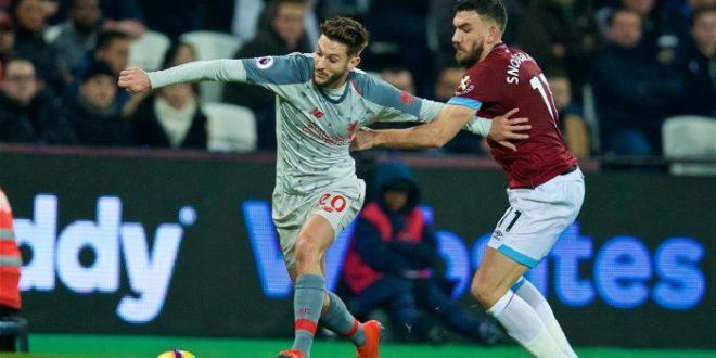West Ham vs Liverpool 1-1 - Highlights & Goals