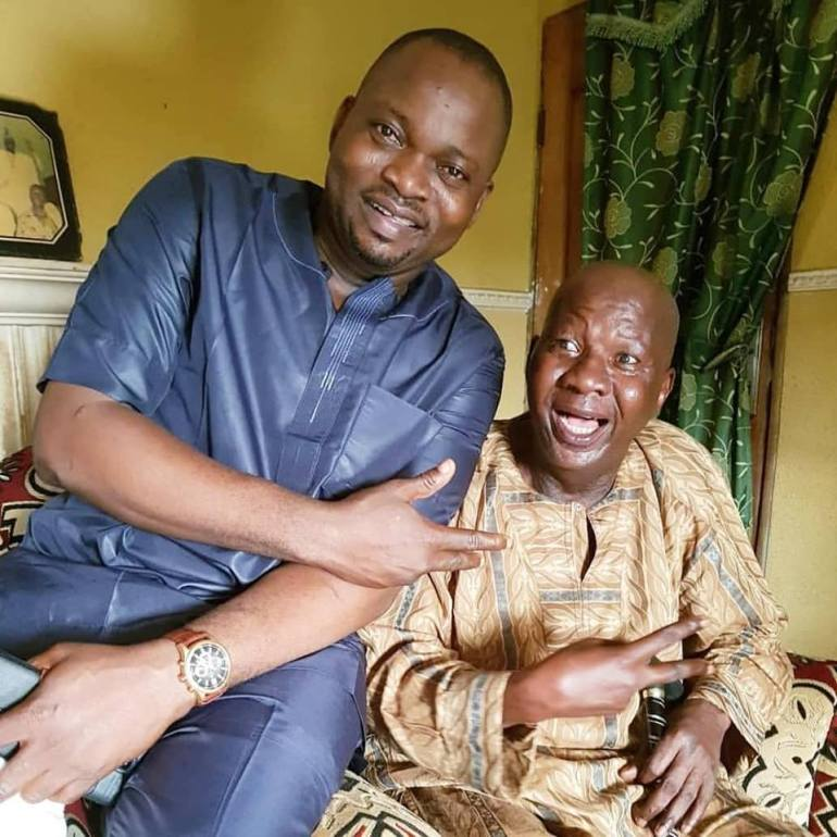 Baba Suwe Arrives LUTH For Comprehensive Treatment (Photo)