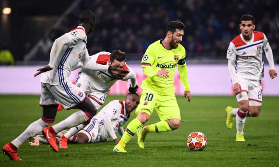 Lyon vs Barcelona 0-0 - Highlights (Download Video)