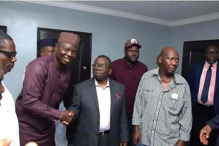 Updates On Baba Suwe's Health As He Visits Minister of Health (Photos)