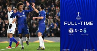 Chelsea vs Dynamo Kyiv 3-0 - Highlights & Goals