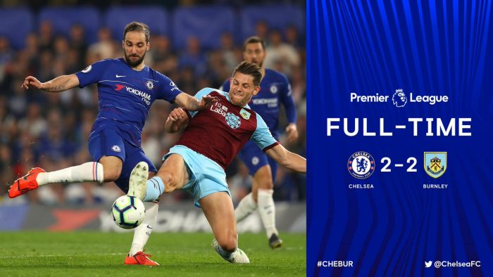 Chelsea vs Burnley 2-2 - Highlights & Goals (Download Video)
