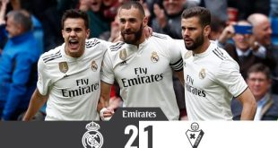 Real Madrid vs Eibar 2-1 - Highlights & Goals