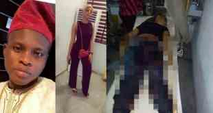 SARS kills A lady, Leaves Her Boyfriend Unconscious In Lagos (Photos)