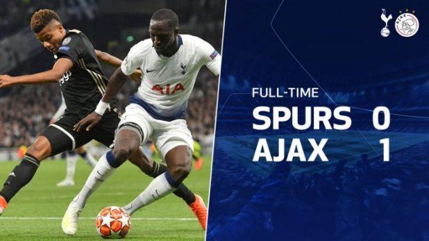 Tottenham vs Ajax 0-1 - Highlights & Goals