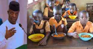 FG Feeds Pupils With 6.8m Eggs, 138k Chickens, 594 Cows Weekly - Osinbajo