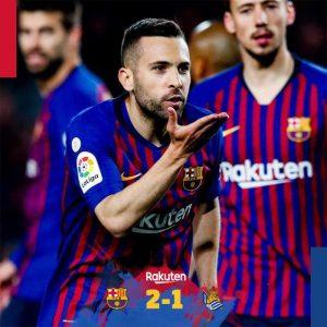 Barcelona vs Real Sociedad 2-1 - Highlights & Goals