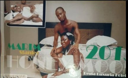 IPOB Starts Bedroom Photo's Challenge With Wife To Support Nnamdi Kanu