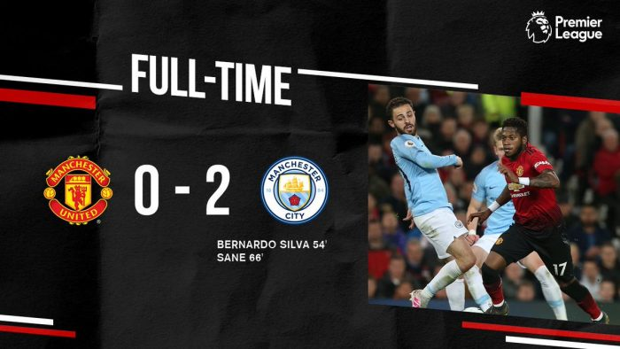 Manchester United vs Manchester City 0-2 - Highlights (Download Video)