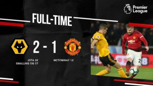 Wolves vs Manchester United 2-1 - Highlights & Goals (Download Video)