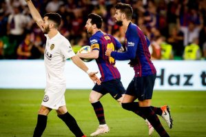 Barcelona vs Valencia 1-2 - Highlights & Goal