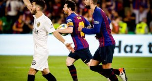 Barcelona vs Valencia 1-2 - Highlights & Goal