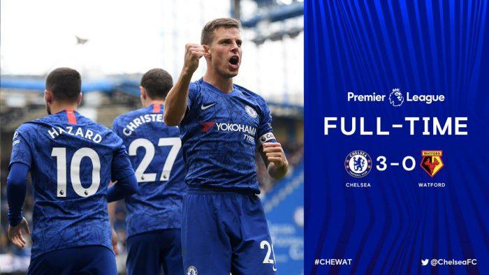 Chelsea vs Watford 3-0 - Highlights & Goals