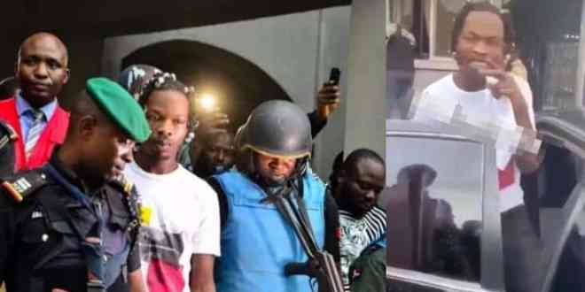Naira Marley's Management Reacts To Reports On Surety For His Bail