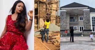 Blessing Okoro Finally Admits The House She Claimed To Have Built Not Hers