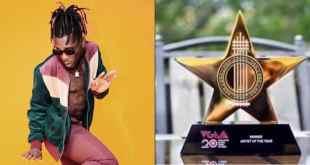 VGMA 2019 Winner List, As Burna Boy Wins African Artiste Of The Year