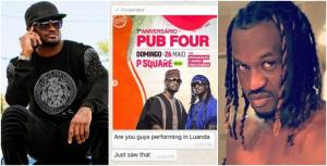 Peter Of Psquare To Sue Brother For Using His Photo To Promote A Show