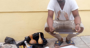 EFCC Arrests Yahoo Boys With Charms In Ilorin (Photos)