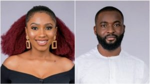 #BBNaija : Mercy, Gedoni Risk Eviction After Smashing Biggie