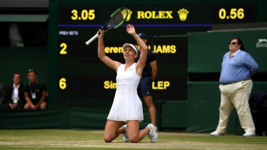 Simona Halep Brushes Aside Serena Williams To Win 2019 Wimbledon Title
