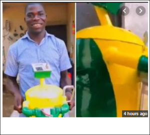 Nigerian Man Builds Generator That Uses Water (Video)