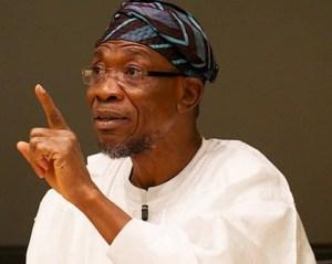 Aregbesola Admits Buhari Put Him In A Strange Ministry