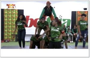 #BBNaija : Tacha Led Her Team To Victory Over Cruisetopia (Videos)
