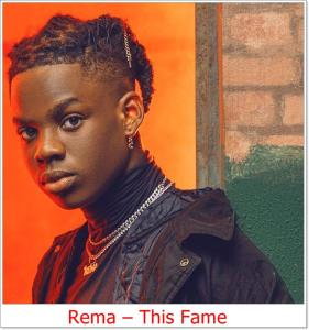 Rema - This Fame (Mp3 Download)