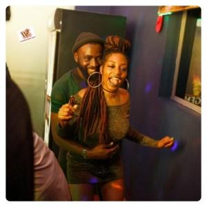 #BBNaija: Gedoni Appears With Khafi At Saturday Party (Video)