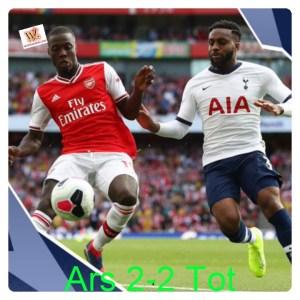 Arsenal vs Tottenham 2-2 - Highlights