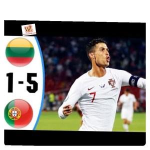 Lithuania vs Portugal 1-5 - Highlights