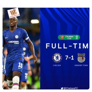 Chelsea vs Grimsby 7-1 Highlights (Download Video)