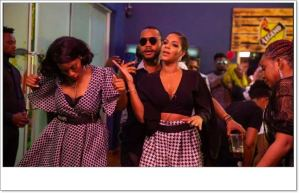 #BBNaija: Watch Evicted Housemates Partying With Top 5 (Video)