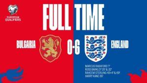 Bulgaria vs England 0-6 - Highlights