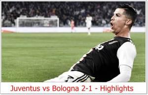 Juventus vs Bologna 2-1 - Highlights