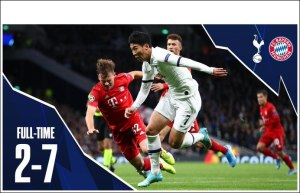 Tottenham vs Bayern Munich 2-7 - Highlights