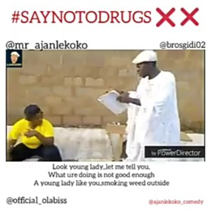 Ajanlekoko Comedy - Say No To Drugs