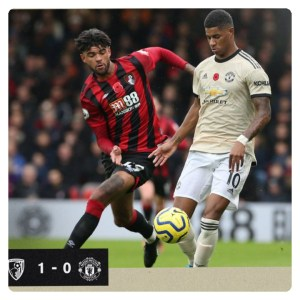 Bournemouth vs Manchester United 1-0 - Highlights