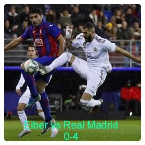 Eiber vs Real Madrid 0-4 Highlights