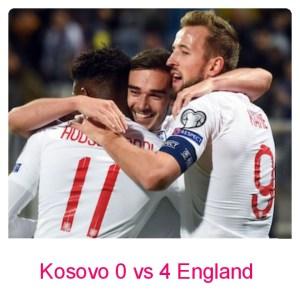 Kosovo vs England 0-4 - Highlights (Download Video)