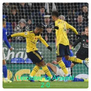 Leicester vs Arsenal 2-0 Highlights