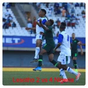 Lesotho vs Nigeria 2-4 - Highlights