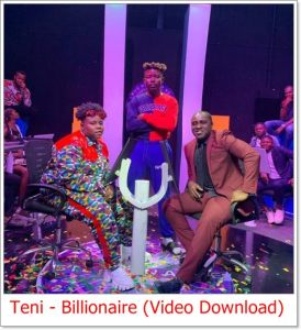 Teni – Billionaire Video Download