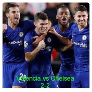 Valencia vs Chelsea 2-2 - Highlights