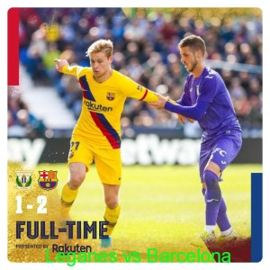 Leganes vs Barcelona 1-2 - Highlights