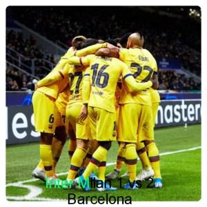 Inter Milan vs Barcelona 1-2 Highlights