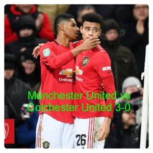 Manchester United vs Colchester 3-0 Hightlghts