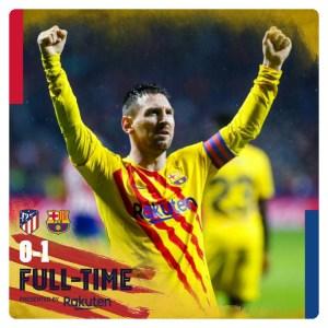 Atletico Madrid vs Barcelona 0-1 - Highlights