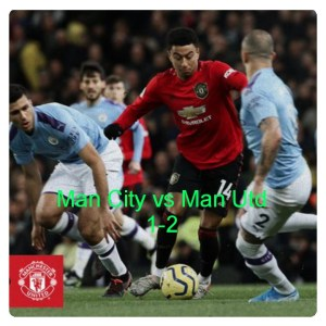 Manchester City vs Manchester United 1-2 Highlights Download